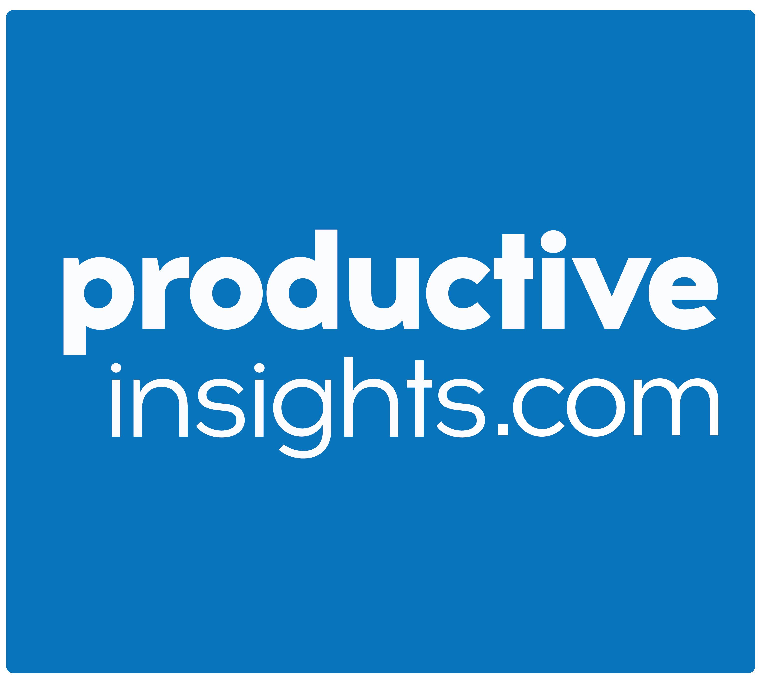 Productive Insights Logo
