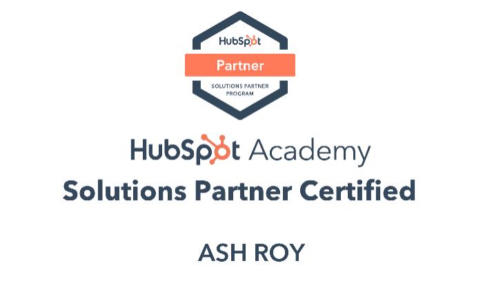HubSpot Solution Partner Certified